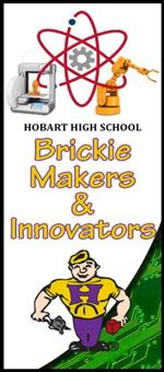 Hobart High School Brickie Makers & Innovators Banner