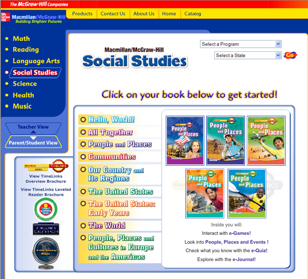 Student/Parent Learning Center / Textbooks Online
