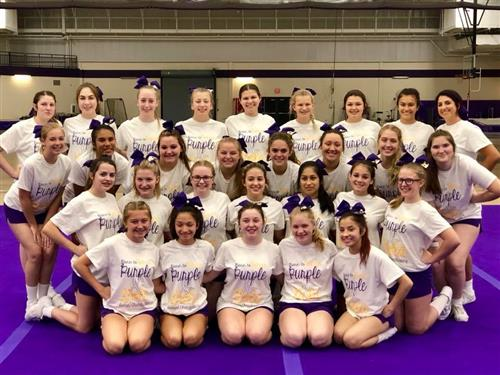 2018-2019 Brickie Cheerleaders