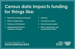 Census data impacts funding